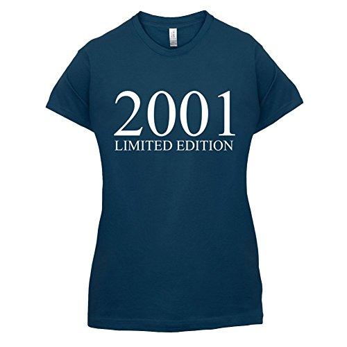 2001 Limierte Auflage / Limited Edition - 16. Geburtstag - Damen T-Shirt - Navy - XL