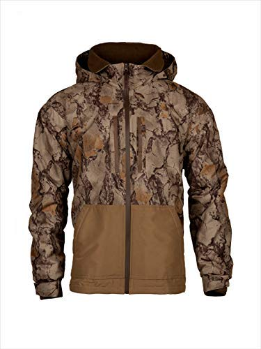 4d3b0e319939d Natural Gear Cut Down Waterfowl Jacket, Camo Hunting Coat for Women and Men  with Fleece