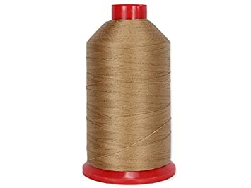 Tan techsew Premium Bonded Nylon hilo de coser # 92 T90 ...