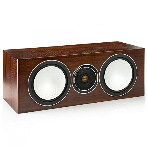 Monitor Audio Silver Centre - Caixa acústica central 2-vias 150w RMS para Home Theater Walnut