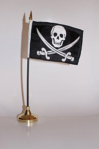 Calico Rackham Jack Flag - Pirate Calico Jack Rackham 4