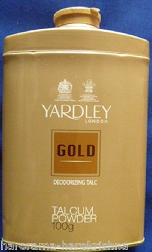 Yardley London Gold Deodorizing Talc Talcum Powder Men 100gm