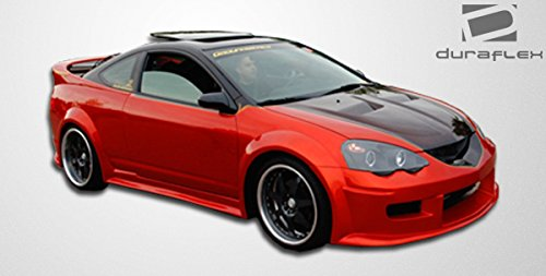 Duraflex Replacement for 2002-2004 Acura RSX GT300 Wide Body Side Skirts Rocker Panels - 2 Piece