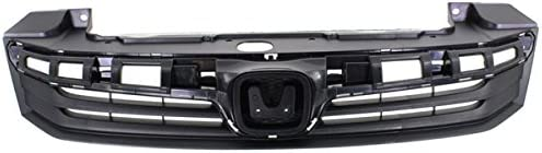 EX, EX-L, LX 1.8L Coupe Front Face Bar Grill Grille Assembly Koolzap For 14-15 Civic