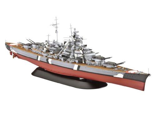 ドイツレベル 戦艦 ビスマルク 1/700 R05098 プラモデル