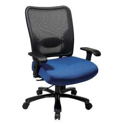 Space Seating High-Back Double AirGrid Big and Tall Office Chair Fabric: Basis - (Sunset Seating)