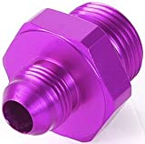 MagnaFuel MP-3018-8AN to -12AN O-Ring Male Adapter Fitting
