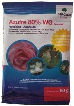 Antioidio antiácaros azufre 50 g Sipcam