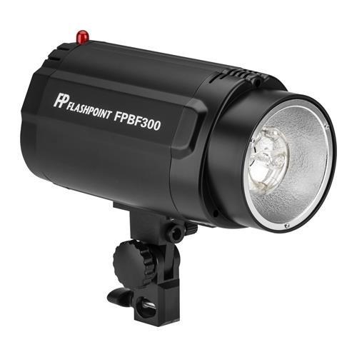Flashpoint Budget Studio Monolight Flash, 300 Watt Seconds