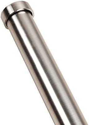 Madura Embout Cylindrique ALMA Acier Gris Clair 1,9 cm