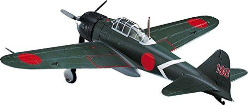 - Hasegawa HAJT17 1:48 Scale Mitsubishi A6M3 Zero Fighter T Model Kit
