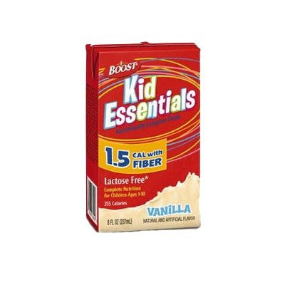 85335000CA - Boost Kid Essentials 1.5 Nutrition Vanilla Flavor with Fiber 8 oz. by Nestle