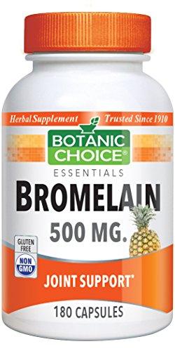 (Botanic Choice Bromelain 500 mg, 180 Capsules)