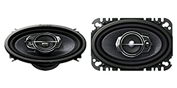 pioneer 4x6 speakers. pioneer ts-a4675r 4\u0026quot; x 6\u0026quot; 3-way speakers (discontinued by 4x6