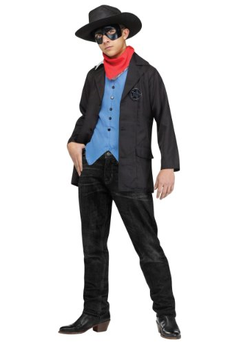 Big Boys' Wild West Avenger Costume - L