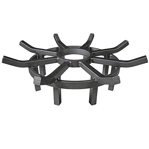 Titan 20'' Wagon Wheel Fire Grate by Titan Great Outdoors