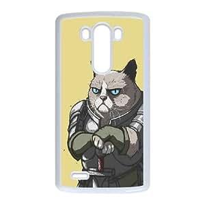 LG G3 Cell Phone Case White Grumpy Stark X6M8SY