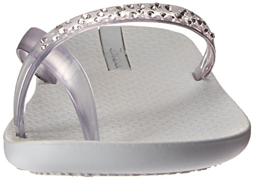 Ipanema Women's Crystal Flip Flop Pearl Grey/Clear LPwRlOTD