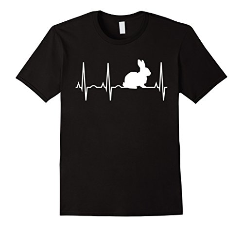Bunny Heartbeat Shirt for Bunny Lovers - Rabbit T-Shirt