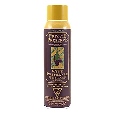 Private Wine Preservation Spray