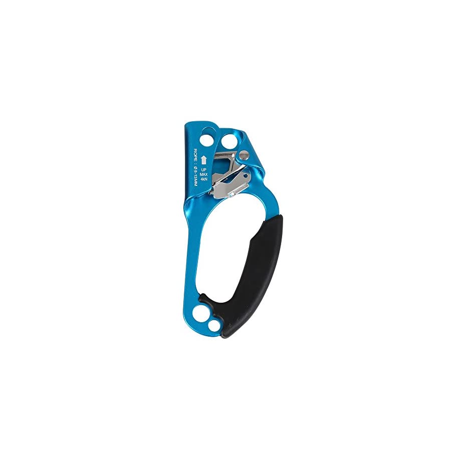 Outdoor Rock Climbing Hand Ascender Rappelling Gear Equipment Rope for 8 13MM Rope Left Right Hand