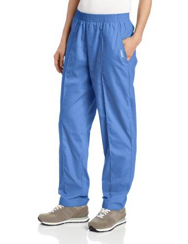 Landau Women's Classic Tapered Scrub Leg Pant, Ceil Blue, 3X-Large ()