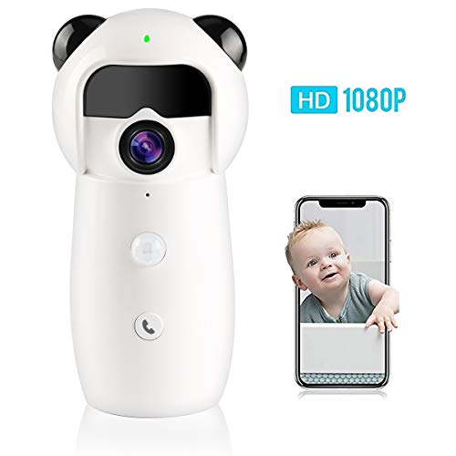 Jbonest WiFi Camera Smarthome IP Surveillance Camera with Night Vision Two-way Audio for Baby/Pet Monitor Support iOS, Android APP Review