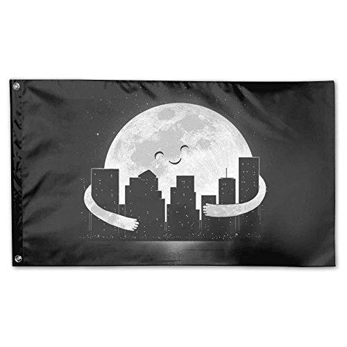 Gentle Moon Home Garden Flags Polyester 3x5 Foot