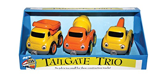 Truck Construction Mighty World (Small World Preschool - Tailgate Trios - Construction)