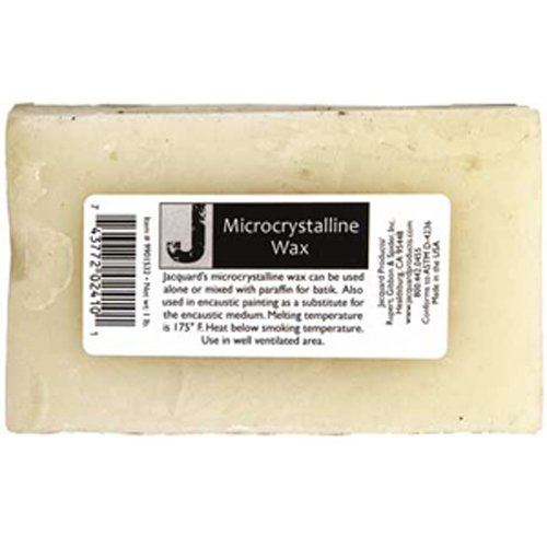 JACQUARD/R G S Micro Crystaline 1lb Jacquard Wax Products,Off-White from JACQUARD/R G S