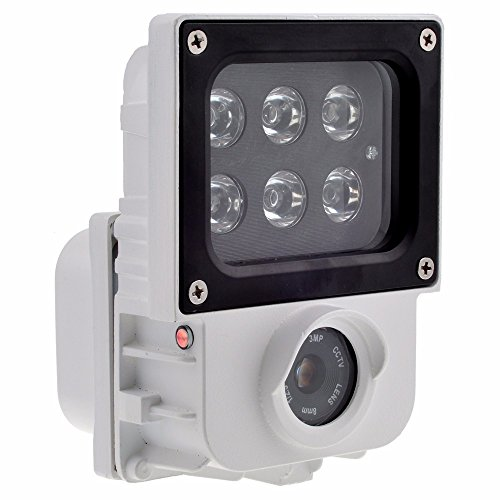 Monolith Wifi Floodlight Camera Ip65 Waterproof Motion