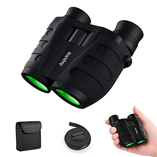 12×25 Compact Pocket Folding Binoculars for Adults Kids, Low Light Night Vision High Powered Lightweight Waterproof HD Professional Mini Binocular Telescope for Outdoor Hunting, Bird Watching, Hiking For Sale