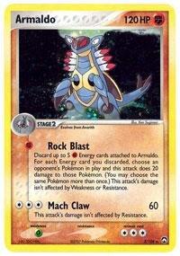 (Pokemon - Armaldo (3) - EX Power Keepers - Reverse Holofoil)