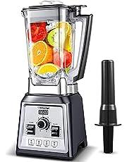 Blandare smoothie Maker, Amzchef Smoothie Blender 2l Bpa-Fri Behållare Används för Att Göra Smoothies, Milkshakes [Energiklass A+++]
