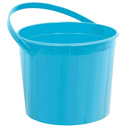 Amscan Plastic Bucket | Caribbean | Party Accessory | 12 Ct.