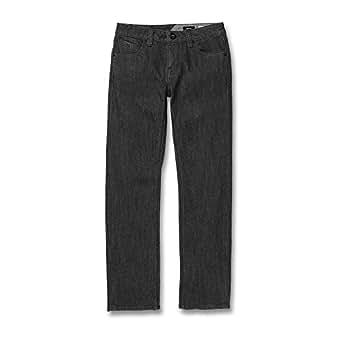 Volcom Boys C1931501 Big Boys' Vorta Jeans Jeans - Gray - 22