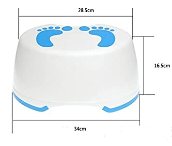 Oliadesign Child Step Stool Toddler Stepping Stool Non Slip Bathroom Potty and Toilet Training  sc 1 st  Amazon.com : child step stool - islam-shia.org