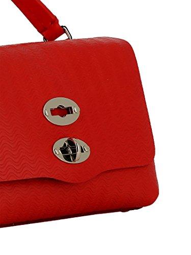 Sac pour Rouge Taille Main Zanellato Femme Rouge Unique à wpdgqntB