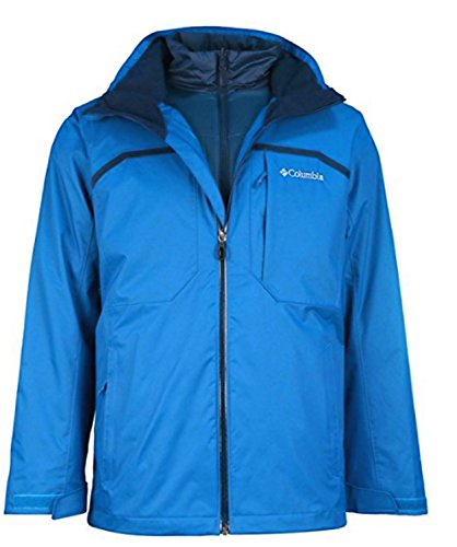Columbia Men's Nordic Point II Interchange Omni Heat Hooded Winter Ski Jacket (XXL) ()