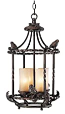 "Song Birds 13"" Wide Pendant Indoor-Outdoor Chandelier"
