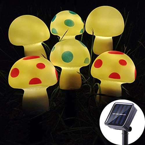Outdoor Solar Mushroom Lights in US - 9