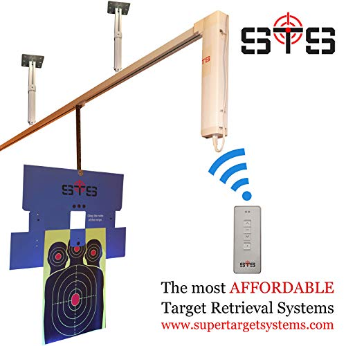 Target Retrieval System, Complete DIY, for Shooting Ranges, Indoor or Outdoor (40)