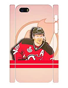 Fascinating Series Cell Phone Case Unique Men Ice Hockey Athlete Print Tough Case Cover for Iphone 5 5s (XBQ-0218T)