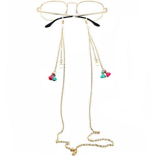 Collar Homyl Lectura de de Gafas Collar 01 Cadena Gafas Sol de de Elegante qXEr0Xw