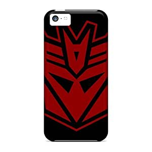 linJUN FENGFPzBWiN4724WLuCk DaMMeke Awesome Case Cover Compatible With ipod touch 5 - Decepticon Red
