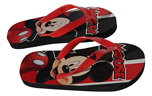 Picture of Big Boy's Mickey Mouse Flip Flops