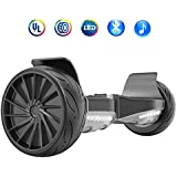 HYPER GOGO 8.5 Inch Hoverboard - Electric Smart Self Balancing Wheel Hoverboard Scooter - Hover Board with Bluetooth Speakers,LED Lights UL 2272 Certified