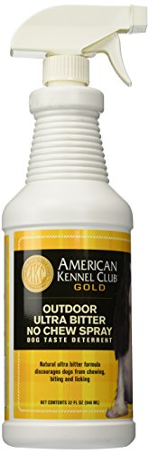 AMERICAN KENNEL CLUB GOLD No Chew Training Deterrent, Outdoor