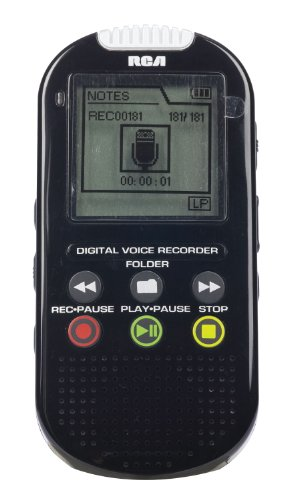 RCA VR5235 4GB USB Digital Voice Recorder
