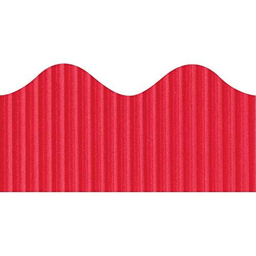 Pacon Bordette Scalloped Decorative Border - Rectangle with Scalloped Trim - 2.25